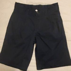 IZOD blue uniform shorts